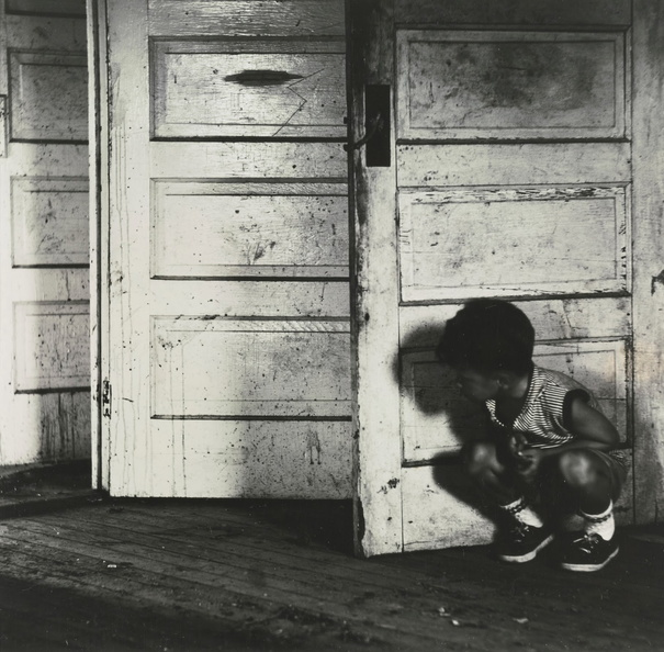 Ralph Eugene Meatyard - Untitled 3 (Child Behind Three Doors).jpg
